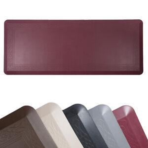 "Oversize Waterproof Anti Fatigue Kitchen Floor Mat Non-Slip Standing Mat 24""x60"""