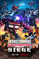 "Transformers War for Cybertron Trilogy Poster 40x27"" 24x36"" TV 2020 Print Silk"