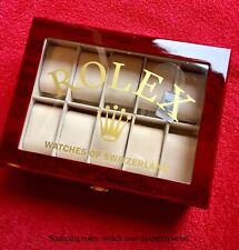 Rolex Watch Box/ Collectors Display Case (no Reserve)