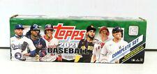 Topps 2021 MLB Baseball Cards Complete Set - Brand New