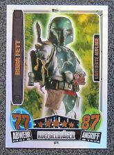 Star Wars Force Attax Movie Cards 3 LE11 Boba Fett / Star Wars Karte limitiert