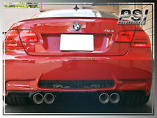 V Type Carbon Fiber Bumper Diffuser for 2007-2012 BMW E92 M3 2Dr Coupe Only