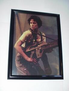 Aliens Poster #44 FRAMED Ripley w/ M41A Pulse Rifle Aliens James Cameron