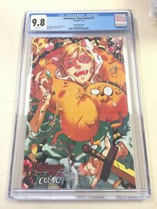 Adventure Time Comics #1 CGC 9.8 JJUFS Salty Variant Cover