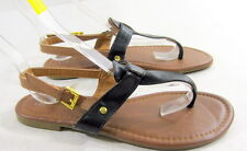 US WOMEN Size 10     NEW  Black/Brown  Shoes Flat SEXY Sandals