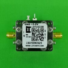 Broadband Low Noise Amplifier 0.45dB NF 100M--2GHz 40dB Gain - 2 Stage