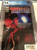 Thor #5 CGC 9.8 Marvel, Donny Cates, Black Winter