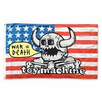 """Toy Machine Skateboard Banner Flag War = Death 36"""" x 60"""""""