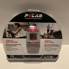 Polar FT4 Fitness Training Heart Rate Monitor Watch PINK + Heart Rate Sensor