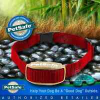 PetSafe Pawz Away Extra Red Collar Dog Cat Receiver Outdoor Indoor PWF00-13664