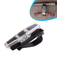 Pinzas Clip soporte colgar gafas Tarjetas Portagafas Visera coche