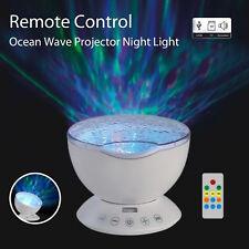 Top LED Ozean Meer Lampe Nachtlicht Sternenhimmel Projektor mit Lautsprecher Neu