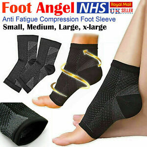 2X Compression Foot Socks Support Sleeve Heel Pain Relief Plantar Fasciitis Arch