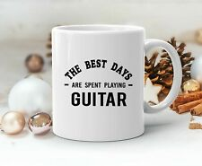 Guitar Lover Mug Playing Guitar Musician Artist Rock Music Guitarist Funny Gift