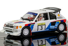 Scalextric Peugeot 205 T16 1000 Lakes Rally 1985 Slot Car 1/32 C3751