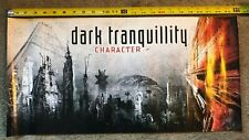 Dark Tranquility Character Promo Poster Rare In Flames At The Gates SwedishMetal