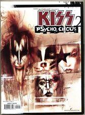 Kiss Psycho Circus Magazine  #2-1999  nm-  Image Brian Holguin / Angel Medina