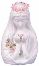 Touch of Roses Virgin Mary Head Statue - Virgin Mary Figurine - Catholic Statue