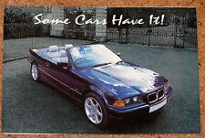C1995 BMW & intérieur en CUIR Mercedes couleurs brochure par groupe de moteur Checkpoint