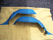 1968 DODGE CORONET STATION WAGON BLUE INTERIOR FENDER WELL COVERS #2657872 / 3