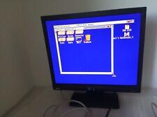 """Like New Monitor Benq 17"""" BL702A 15kHz compatible Commodore Amiga 500 600 1200"""