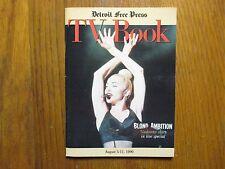 August 5, 1990 Detroit Free Press TV Book/Magazine  (MADONNA/BLOND   AMBITION)