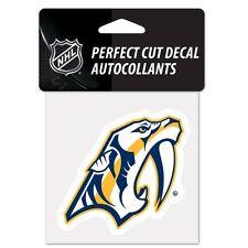 "Nashville Predators 4"" x 4"" Logo Truck Car Window Die Cut Decal Color New NHL"