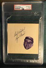 Roger Maris Signed Autographed Page/Cut PSA/DNA New York Yankees Baseball HOF