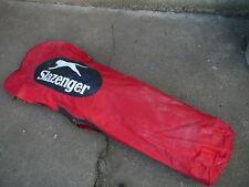 housse pour sac de golf Slazenger vintage toile rouge travel cover