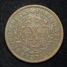 1785 Portugal 10-Reis (cn5738)