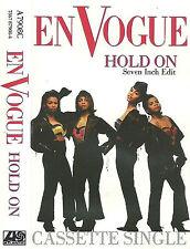 "En Vogue Hold On CASSETTE SINGLE 2 TRACK 7""EDIT Atlantic A7908C RnB/Swing Soul"