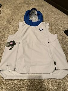 Colts Sleeveless Hoodie- Size M