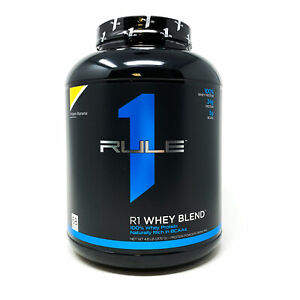 Rule 1 R1 Whey Blend 68 SERV 5LB Rule One Protein Powder ON Gold Standard Whey