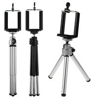 360°Rotatable Metal Stand Tripod Camera Mount + Phone Holder For iPhone For HTC