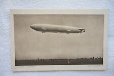 Luftschiff Sachsen Airship Aviation Airplane Postcard