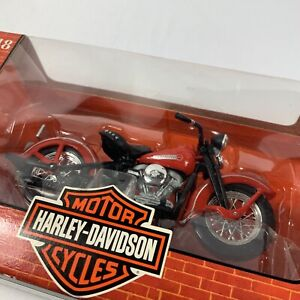 VTG Maisto Harley Davidson 1:18 Scale 1948 FL Panhead Motorcycle Model 121221