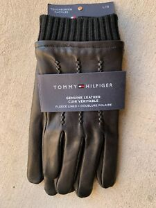 Tommy Hilfiger Leather Driving Gloves size L XL