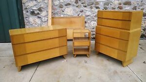 Rway furniture full bedroom suite, dresser, chest, stand vintage, classic, art d