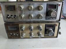 2 VINTAGE RCA CO-PILOT AM CB RADIOS 14T302