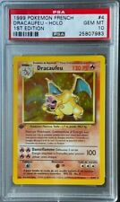 1999 Pokemon French 1st Edition Holo Dracaufeu Charizard #4 PSA 10 GEM MINT