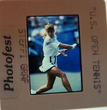 STEFFI GRAF US OPEN FRENCH Wimbledon Australian 22 MAJORS HOF ORIGINAL SLIDE 6