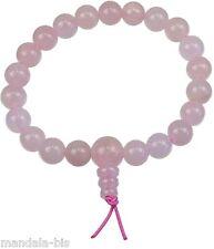 Bracelet Mala Tibétain - Quartz Rose