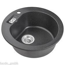 Spülbecken granit rund  Für Bad & Küche Spülen ohne Abtropffläche | eBay