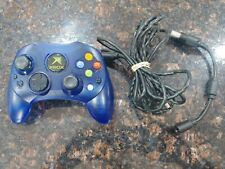 MICROSOFT ORIGINAL XBOX S-TYPE BLUE CONTROLLER CLASSIC OFFICIAL WITH BREAK AWAY