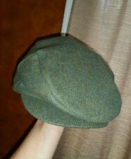 ORVIS WOOL NEWS BOY CABBIE HAT OLIVE GREEN S SM PERFECT CONDITION