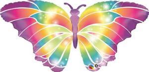 Luminous Butterfly Qualatex 44 Inch Suprafoil Balloon