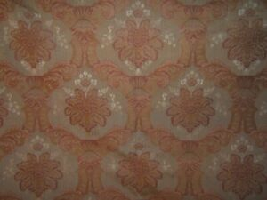 Lee Jofa, GP & J Baker, Maharishi Damask Brocade, BTY, Color Gold and Cayenne
