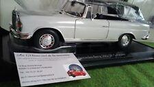 MERCEDES BENZ 280 SE cabriolet 1968 1/18 NOREV 183530 voiture miniature collecti