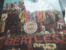 sgt peppers lonely hearts club band vinyl 1967 original 1967 recording.