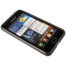 Silicone transp. Black Case for Samsung i9100 Galaxy S2
